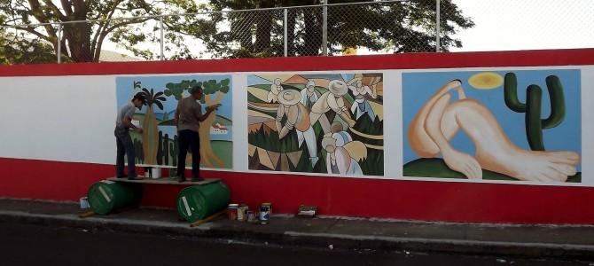 Nova Unidade Da Escola Paula Souza Ganha Painéis Artísticos